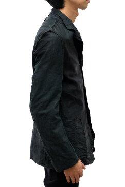 COMME des GARCONS ジャケット コムデギャルソン オム プリュス HOMME PLUS テーラードジャケット ブレザー ヴィンテージ加工【中古】