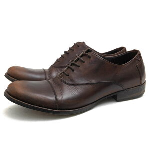 DOLCE&GABBANA Business Shoes Dolce&Gabbana Calf Cowhide Straight Tip Leather Sole Vintage Processing [Used]