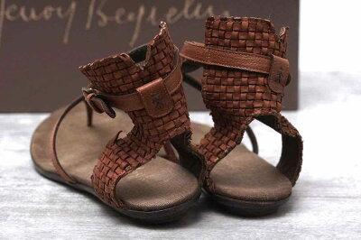【エンリーベグリン】サンダルシューズ靴