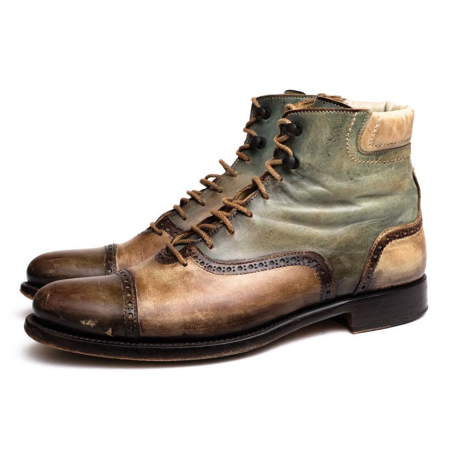 ブーツ, その他 FRANCESCO BENIGNOF1001 VIT CR ROSSO SOLE TAUPE 6