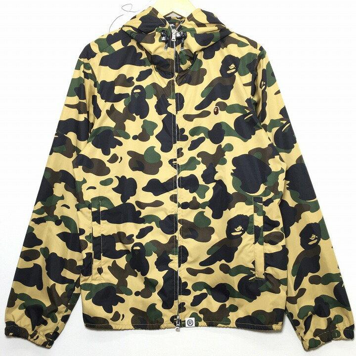 メンズファッション, コート・ジャケット A BATHING APE BAPE 1st CAMO HOODIE JACKET SHARK SizeM Y