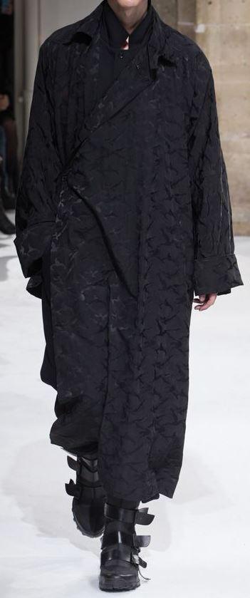 メンズファッション, コート・ジャケット Yohji Yamamoto POUR HOMME 2018 17-18AW Collection Runway Look38 Y
