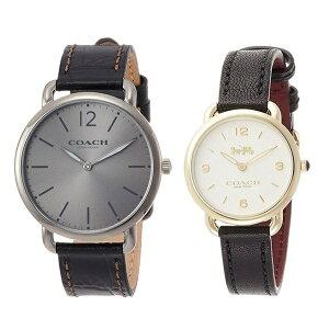 [देखो और अनुषंगी बॉक्स] कोच घड़ी वयस्क जोड़ी देखो जोड़ी देखो ब्राउन काले चमड़े की शादी शादी का तोहफा उपहार उपहार 1460214314502791 जन्मदिन का उपहार उपहार
