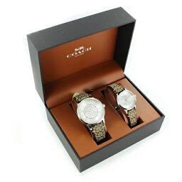 【最大10,000円OFFクーポン】COACH専用 ギフトセット ペアウォッチ コーチ 腕時計 メンズ レディース 選べる4タイプ いつも一緒 同じ柄 毎日使える カップル 夫婦 親 友達 結婚 記念日 プレゼント
