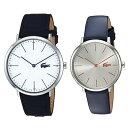 ペアBOX付き ラコステ 腕時計 ペアウォッチ メンズ レディース 大人 レザーウォッチ ネイビー ブルー 20109142000986 誕生日 お祝い ギフト