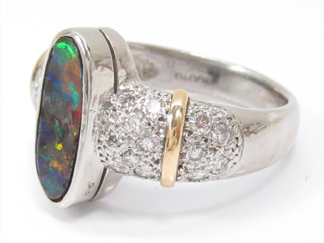 オパールリング 指輪