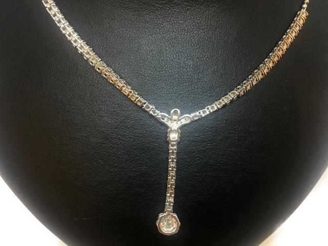 ネックレス ダイヤ プラチナ