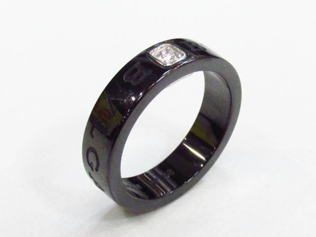 ブルガリブルガリ 1Pダイヤモンド リング 指輪