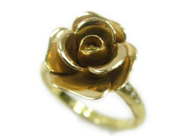 バラ ダイヤ リング 指輪