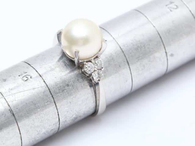 パール リング 指輪