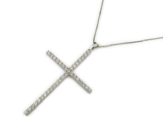 クロスダイヤモンド ネックレス