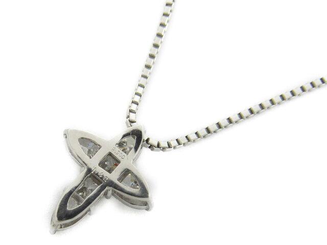 クロス ダイヤモンド ネックレス