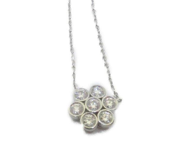 ガーデンフラワー ネックレス ダイヤモンド