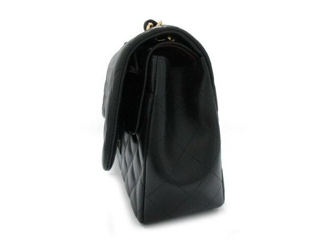 デカマトラッセ Wフラップチェーンショルダー バッグ