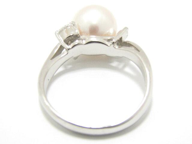 パール 真珠 リング 指輪