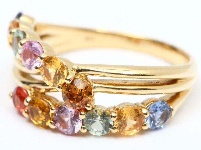 サファイア リング 指輪