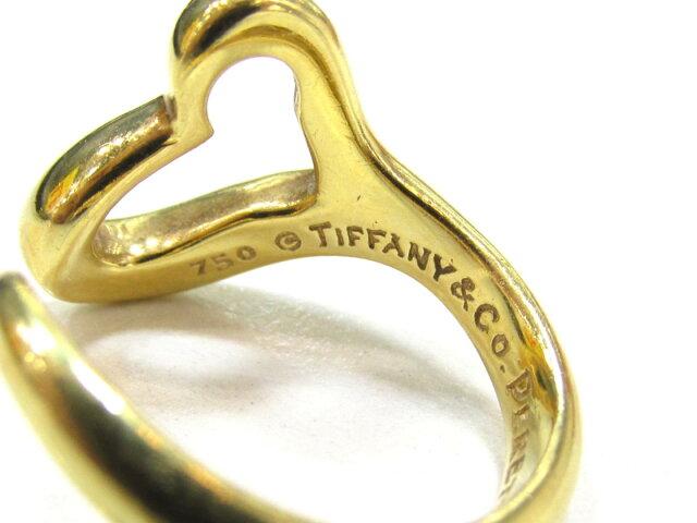 オープンハート リング 指輪