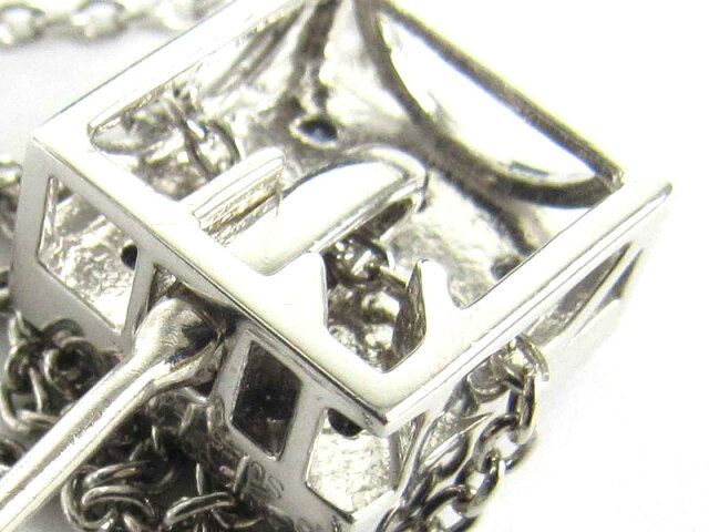アメジスト サファイア ダイヤモンド ネックレス