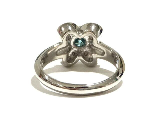 ブルーダイヤモンド リング 指輪
