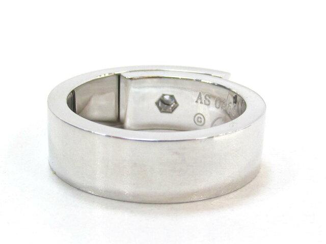 アニバーサリーリング 1Pダイヤモンド 指輪