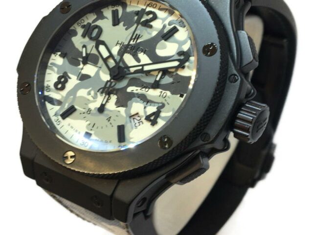 コマンドバンアークティックカモフラ メンズ腕時計 ウォッチ