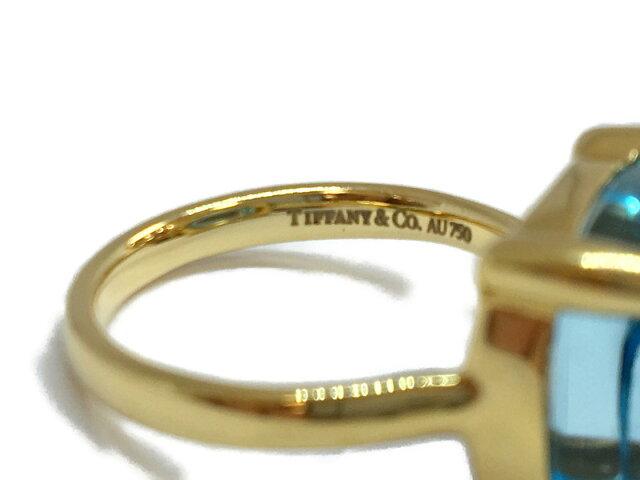 ジュエリー ブルートパーズ シュガースタックリング 指輪