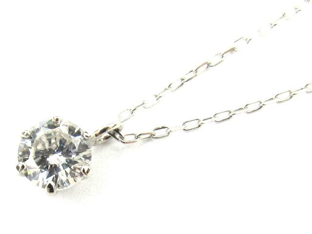 一粒ダイヤモンド ネックレス