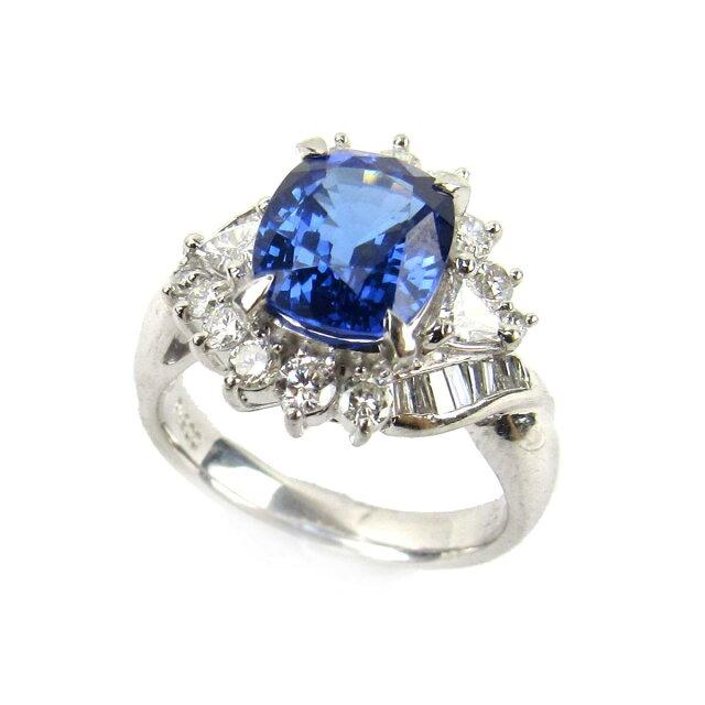 タンザナイト ダイヤモンド リング 指輪