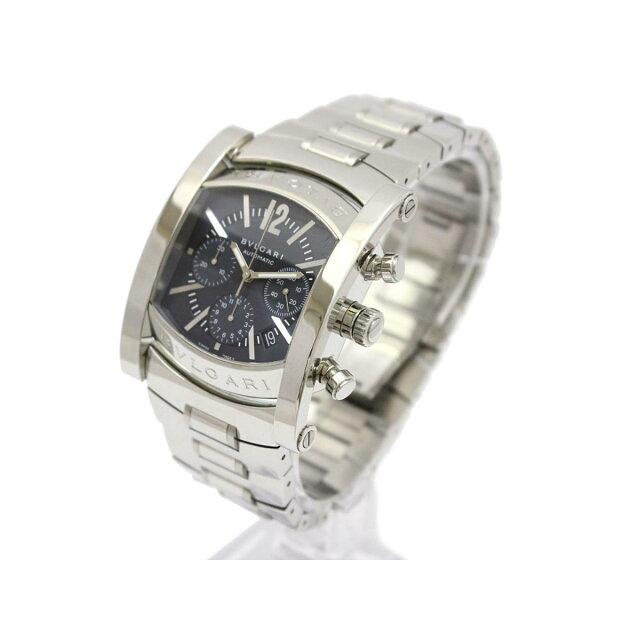 f1f2ac8f39a6 ブルガリ アショーマ クロノグラフ メンズ ウォッチ 腕時計 時計 ...