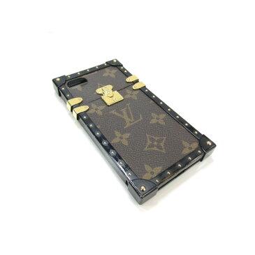 ルイヴィトン アイ・トランク iphone7 ケース メンズ レディース モノグラム ブラウン × ブラック (M64479) 【中古】 | LOUIS VUITTON BRANDOFF ブランドオフ ヴィトン ビトン ルイ・ヴィトン スマートフォン カバー 携帯電話