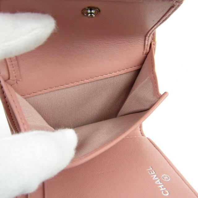 カメリア三つ折財布