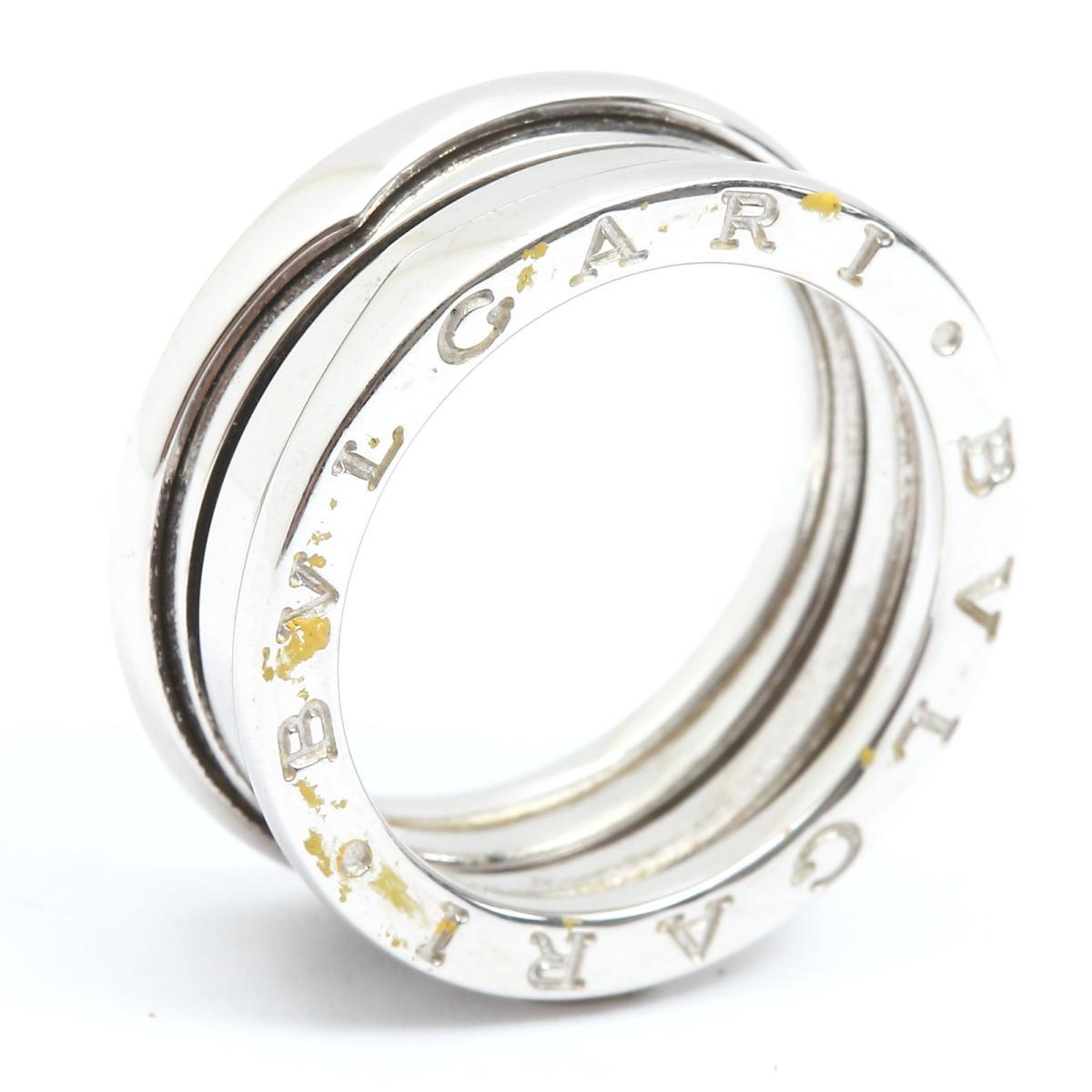 6fc02b432383 ブルガリ B-zero1 リング Sサイズ 指輪 ビーゼロワン ブランドジュエリー ...