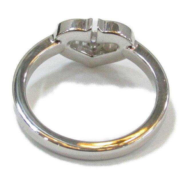 Cハート ダイヤモンドリング 指輪