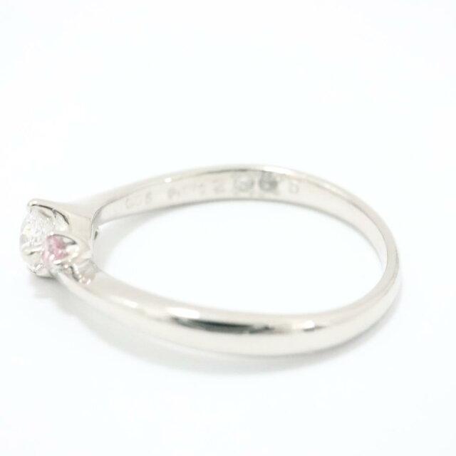 天然ピンクダイヤモンド リング 指輪