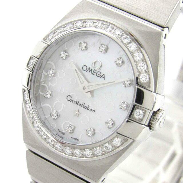 コンステレーション ダイヤベゼル 12Pダイヤモンド ウォッチ 腕時計