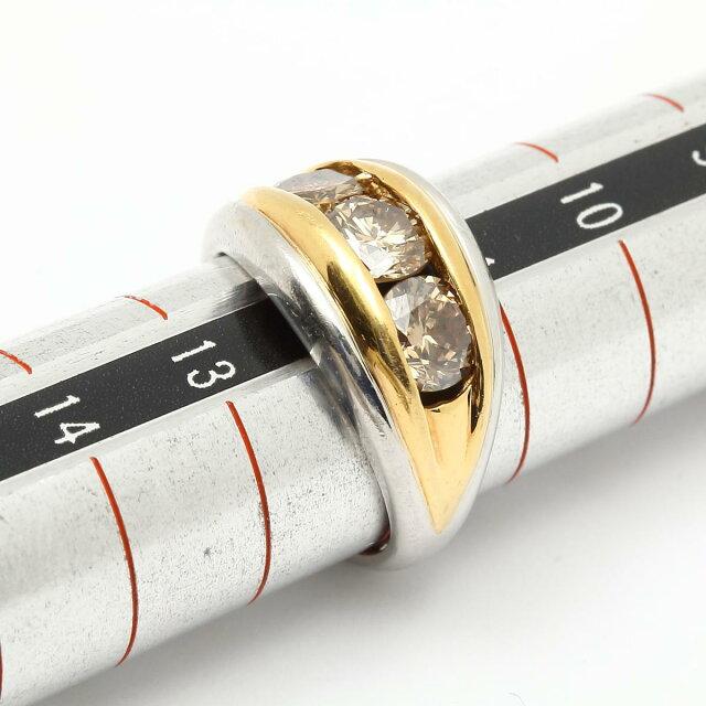 ブラウンダイヤモンド リング 指輪