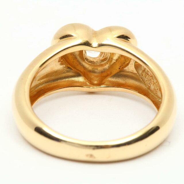 ハート 1P ダイヤモンド リング 指輪