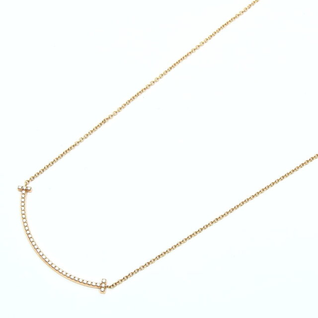 Tスマイルダイヤモンド ネックレス