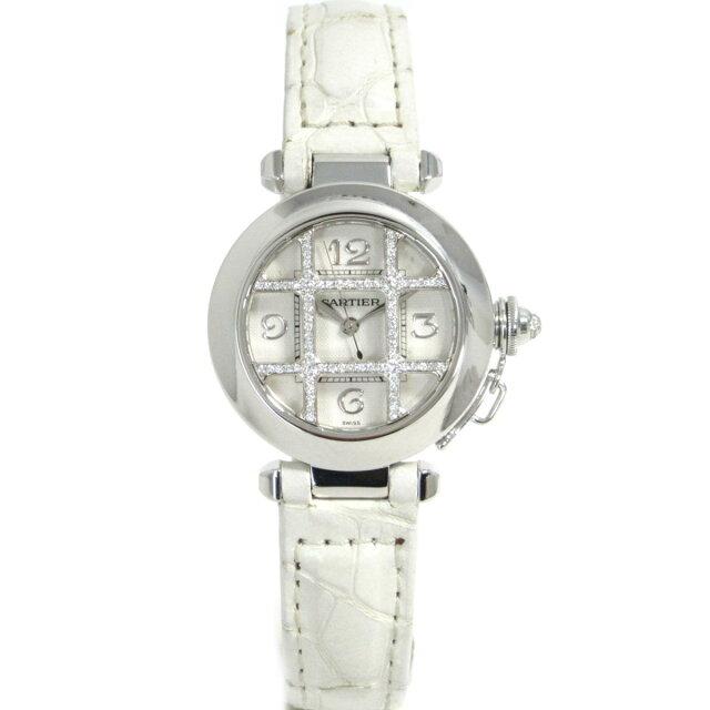 パシャ32mm グリッドダイヤ 腕時計 ウォッチ レディース