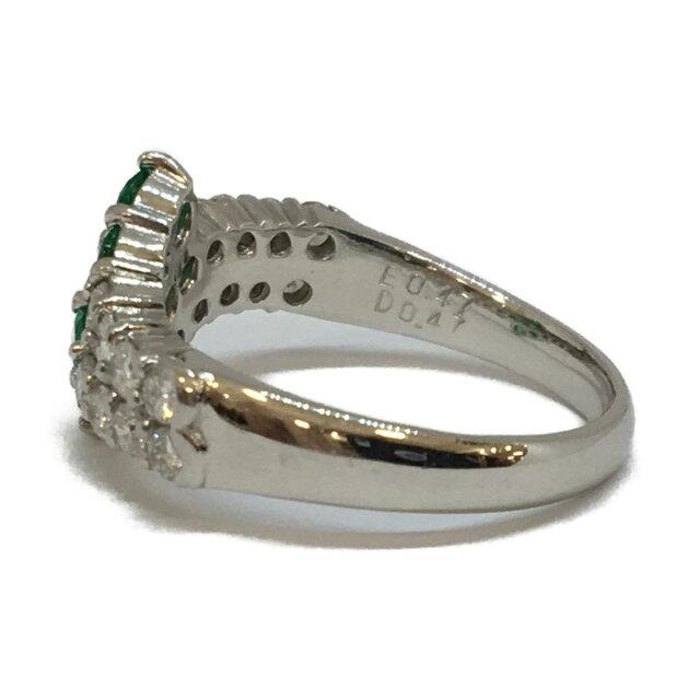 ジュエリー エメラルド ダイヤモンド リング 指輪