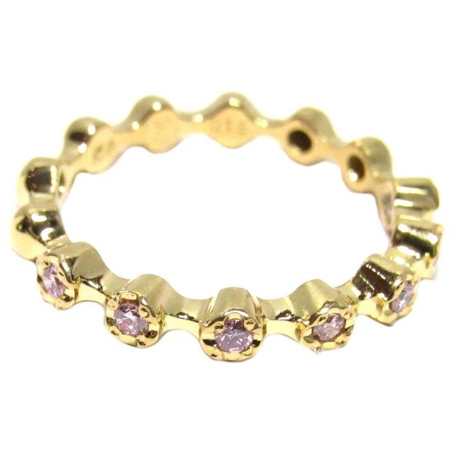 ダイヤモンド 5連 リング 指輪