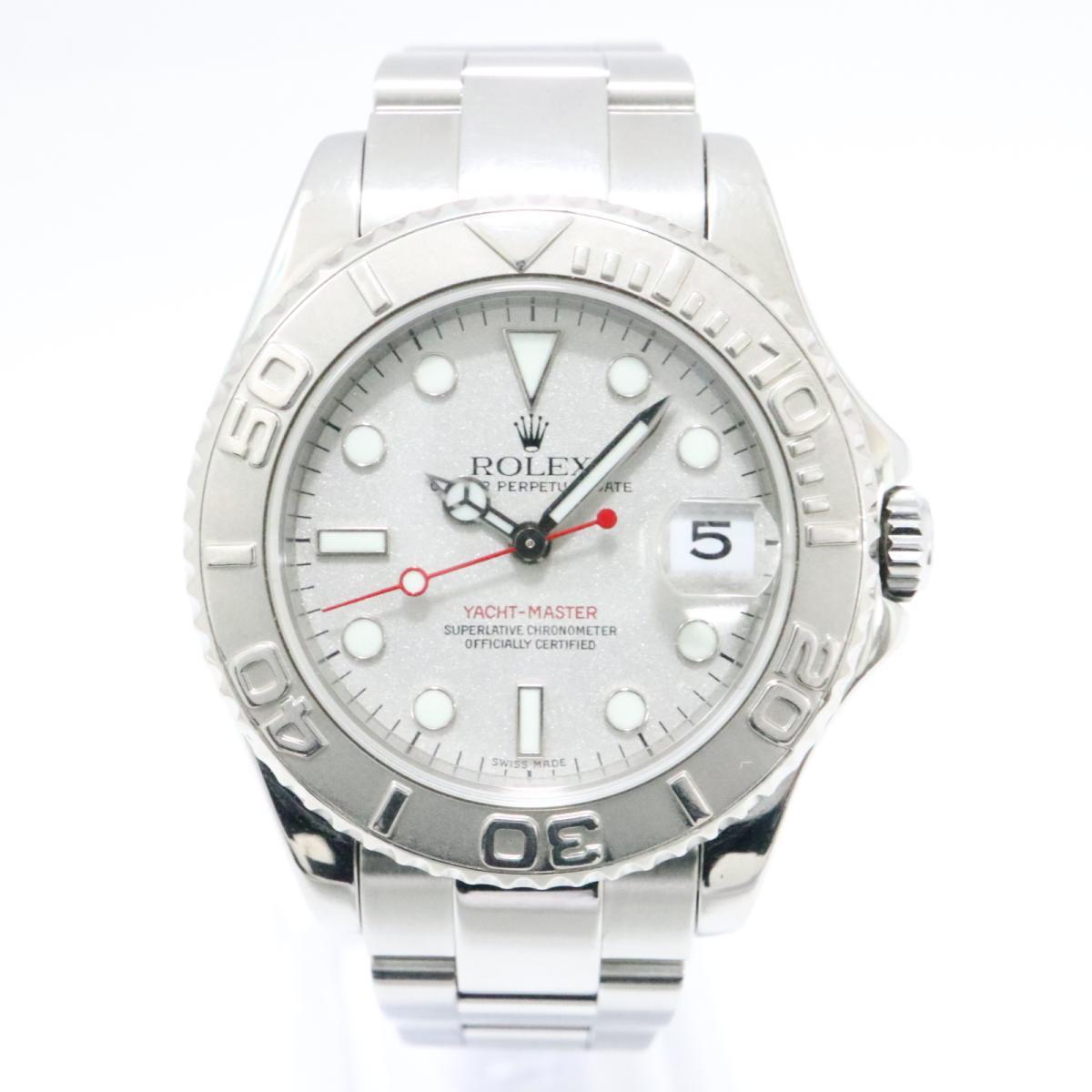 buy online f4729 f8934 楽天市場】ロレックス ヨットマスター ロレジウム 腕時計 時計 ...