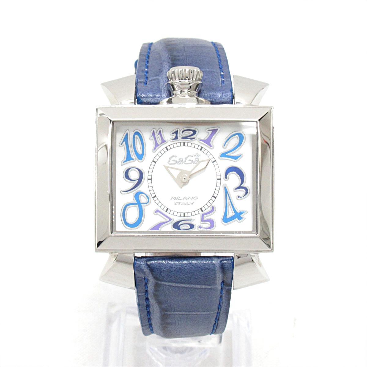 new style 82a67 b3bbe 中古】ガガミラノ ナポレオン 腕時計 ウォッチ 時計 メンズ ...