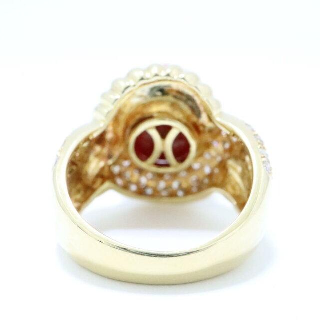 サンゴ リング 指輪