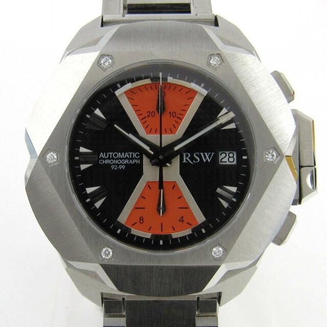 RSW 時計 裏スケ ウォッチ 腕時計