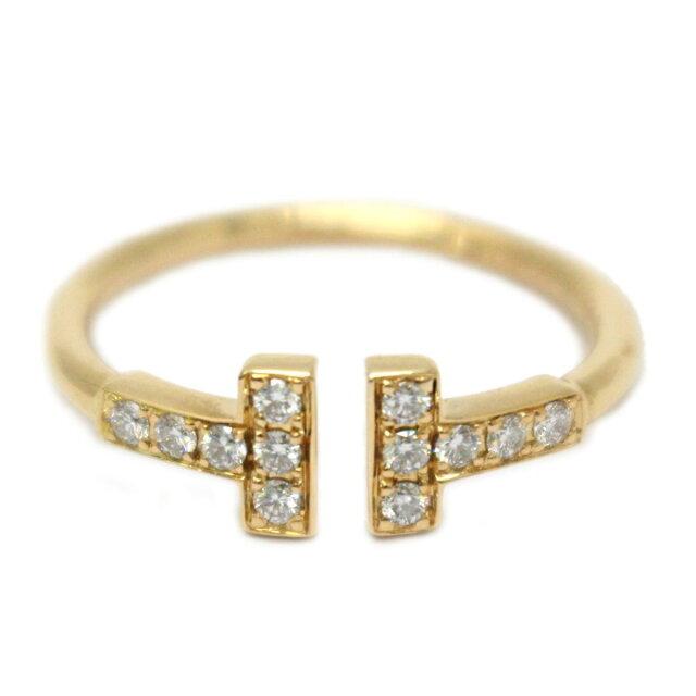 Tワイヤー ダイヤモンド リング 指輪