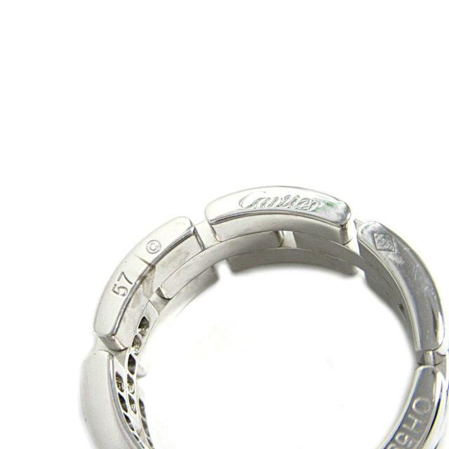 マイヨンパンテールリング ハーフダイヤ 指輪