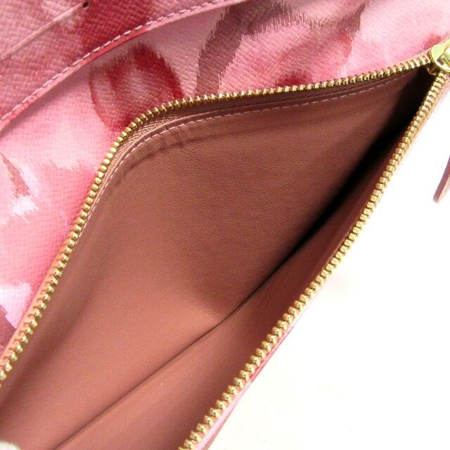 ポルトフォイユ・アンソリット イカットフラワー 二つ折長財布