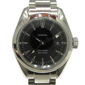オメガ シーマスター アクアテラ ウォッチ 腕時計 時計 レディース ステンレススチール (SS) (2577.50) 【中古】 | OMEGA BRANDOFF ブランドオフ ブランド ブランド時計 ブランド腕時計