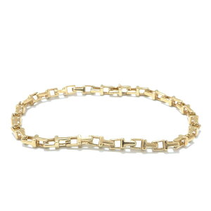 Tiffany & co Yellow Gold Bracelet Brand Jewelry Ladies K18YG (750) Gold [Used] | TIFFANY&CO BRANDOFF Brand Off Brand Accessory Bangle